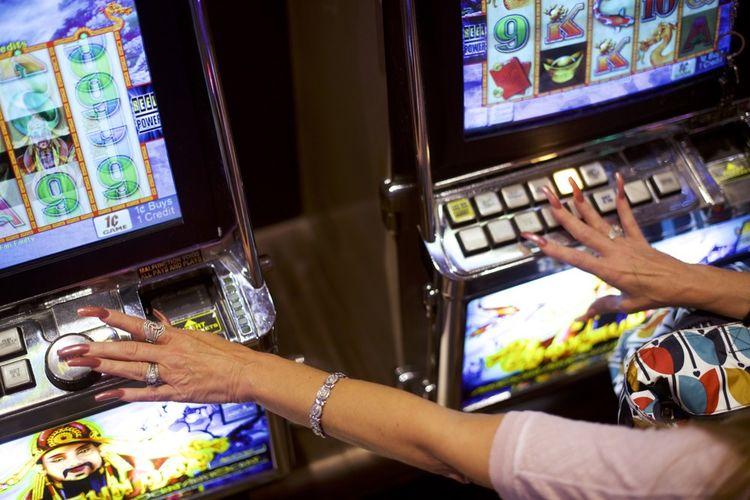 Atlantic City a tiré le gros lot en 1978, avec l'autorisation d'accueillir des casinos, interdits à l'époque dans tous les Etats-Unis, Las Vegas mise à part. Ici, au casino Caesars, en 2018.