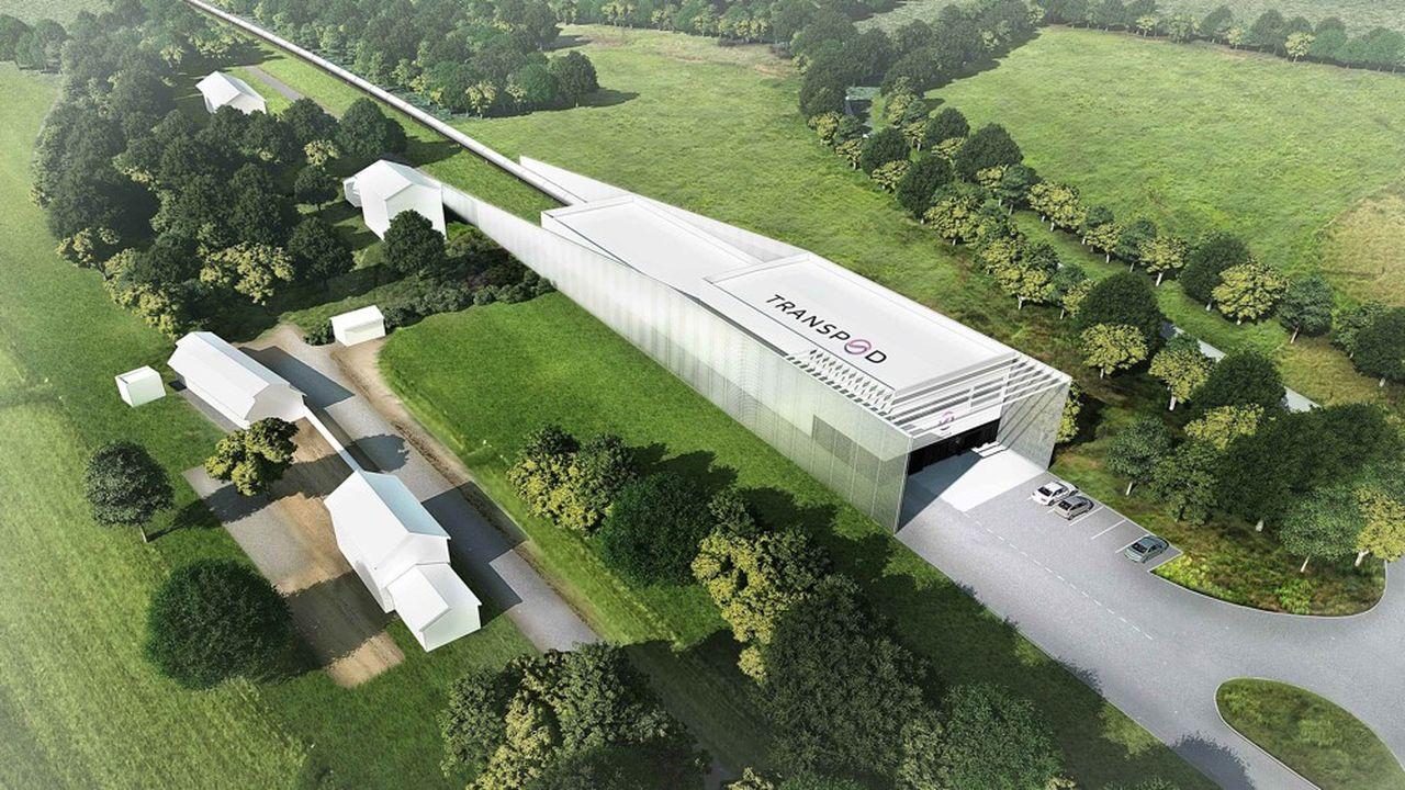 TransPod prêt à lancer son train Hyperloop dans le Limousin