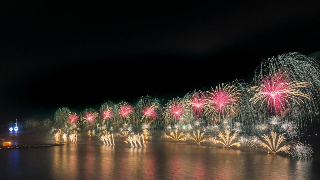 Le Groupe F, qui présentera une création à Villejuif le 1er février, conçoit d'impressionnants spectacles pyrotechniques.