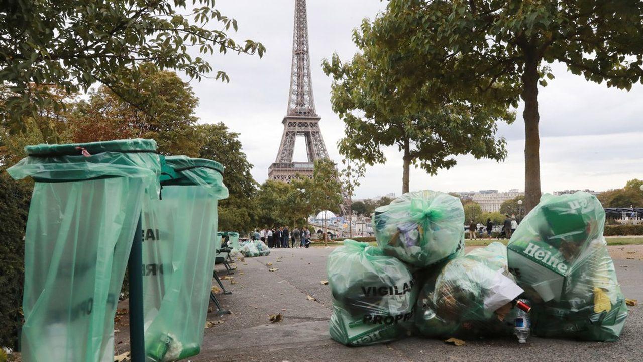 En 2017, 6,3millions de tonnes de déchets non-recyclables et non-compostables avaient été collectées.