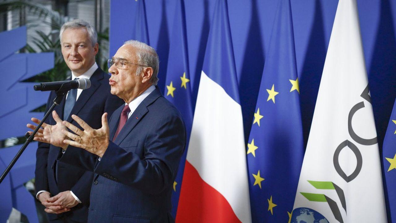 Pour Bruno Le Maire, le ministre des Finances français, il est hors de question que la France retire sa taxe Gafa tant qu'un accord international n'a pas vu le jour.
