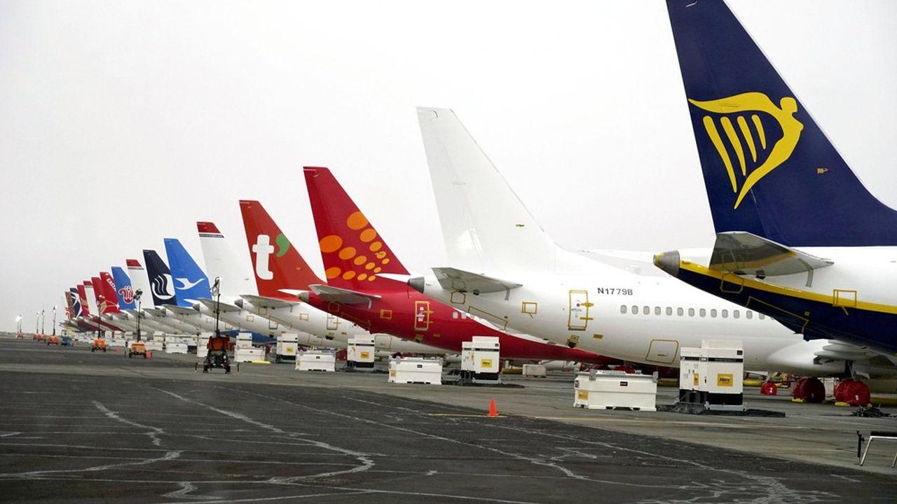 Boeing a reconnu vendredi avoir détecté un nouveau problème de logiciel lié au 737 MAX, immobilisé dans tous les aéroports du monde depuis mars 2019
