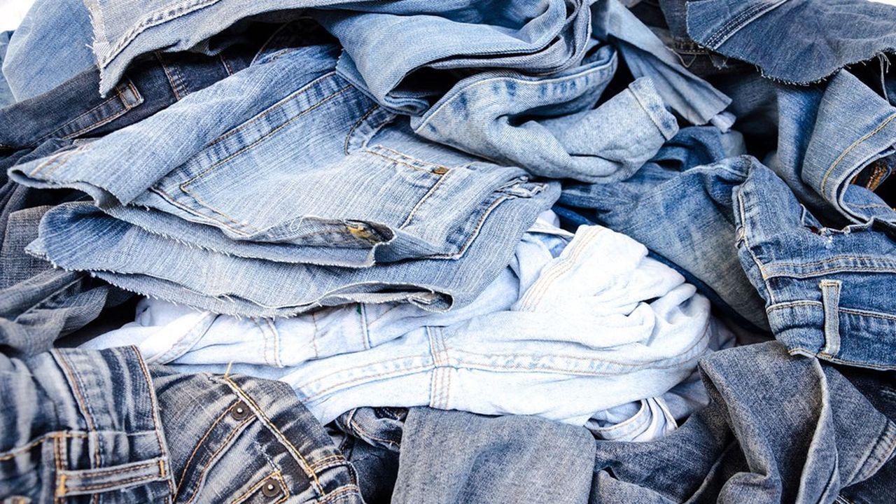 Modetic veut produire les jeans 1083 en coton recyclé en France