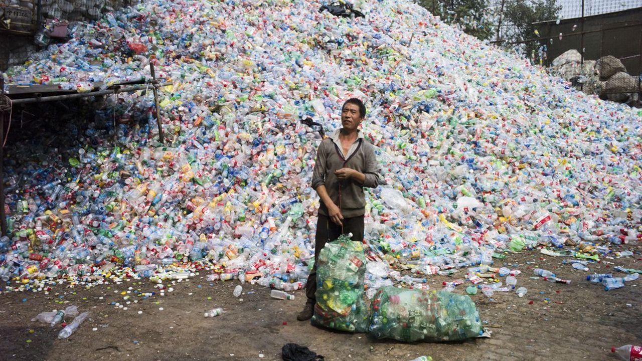 Sacs en plastique bannis de Chine