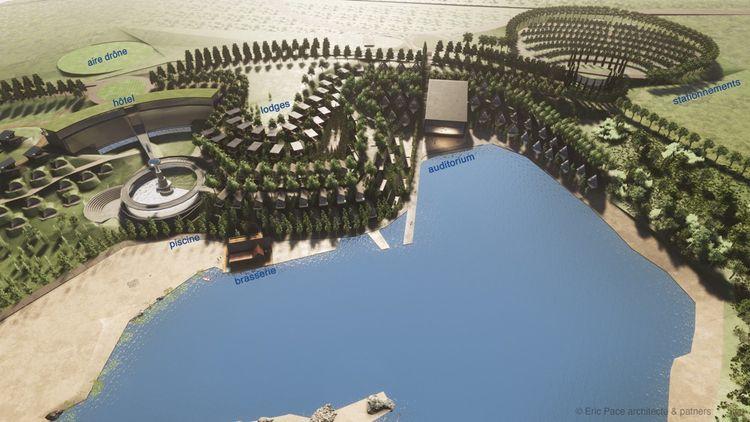 Les promoteurs imaginent construire quelque 196lodges, bâtis en éco-matériaux et autonomes en énergie.