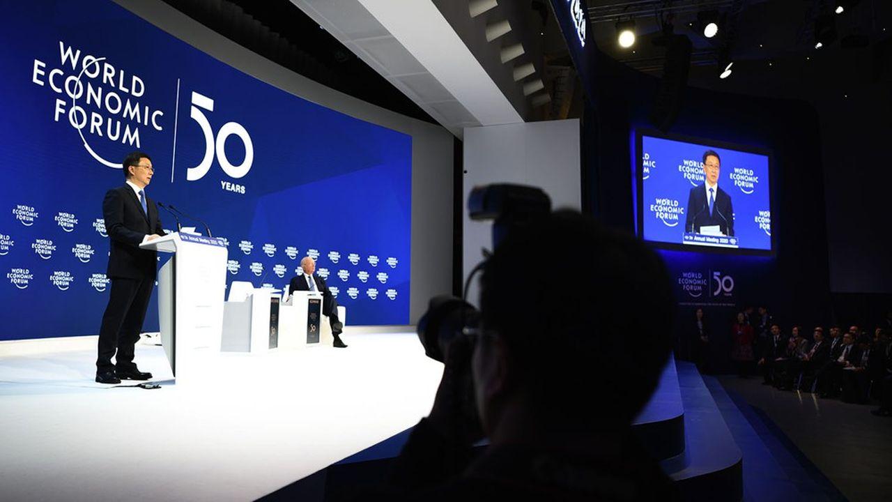 Le vice-Premier ministre Han Zheng au World Economic Forum