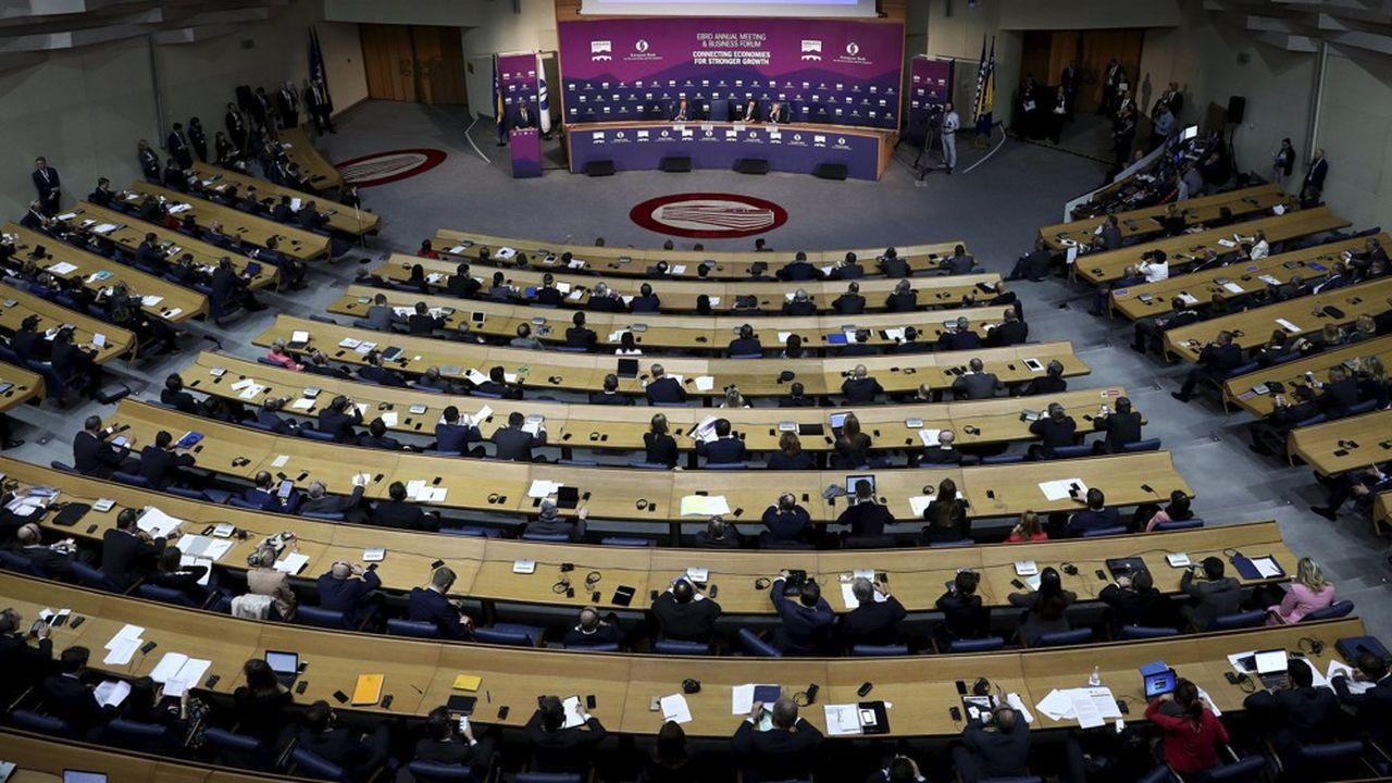 L'assemblée de la BERD en 2019.