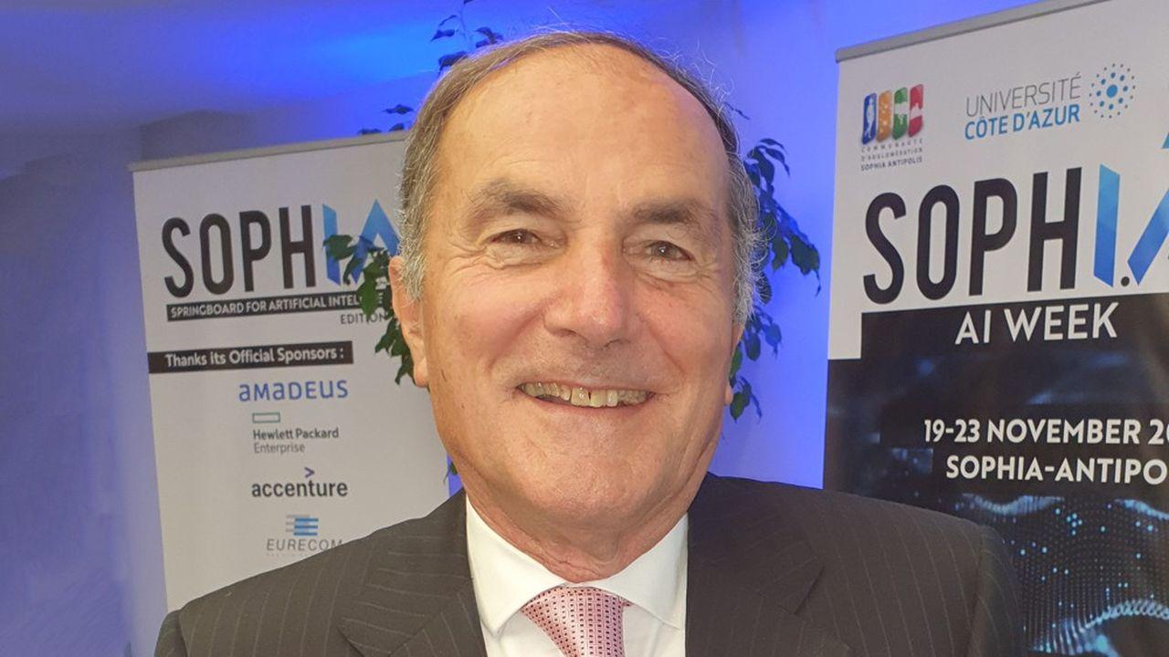 Ancien président monde d'Apple, Marco Landi préside aujourd'hui le comité d'experts du Smart Dealdes Alpes-Maritimes.