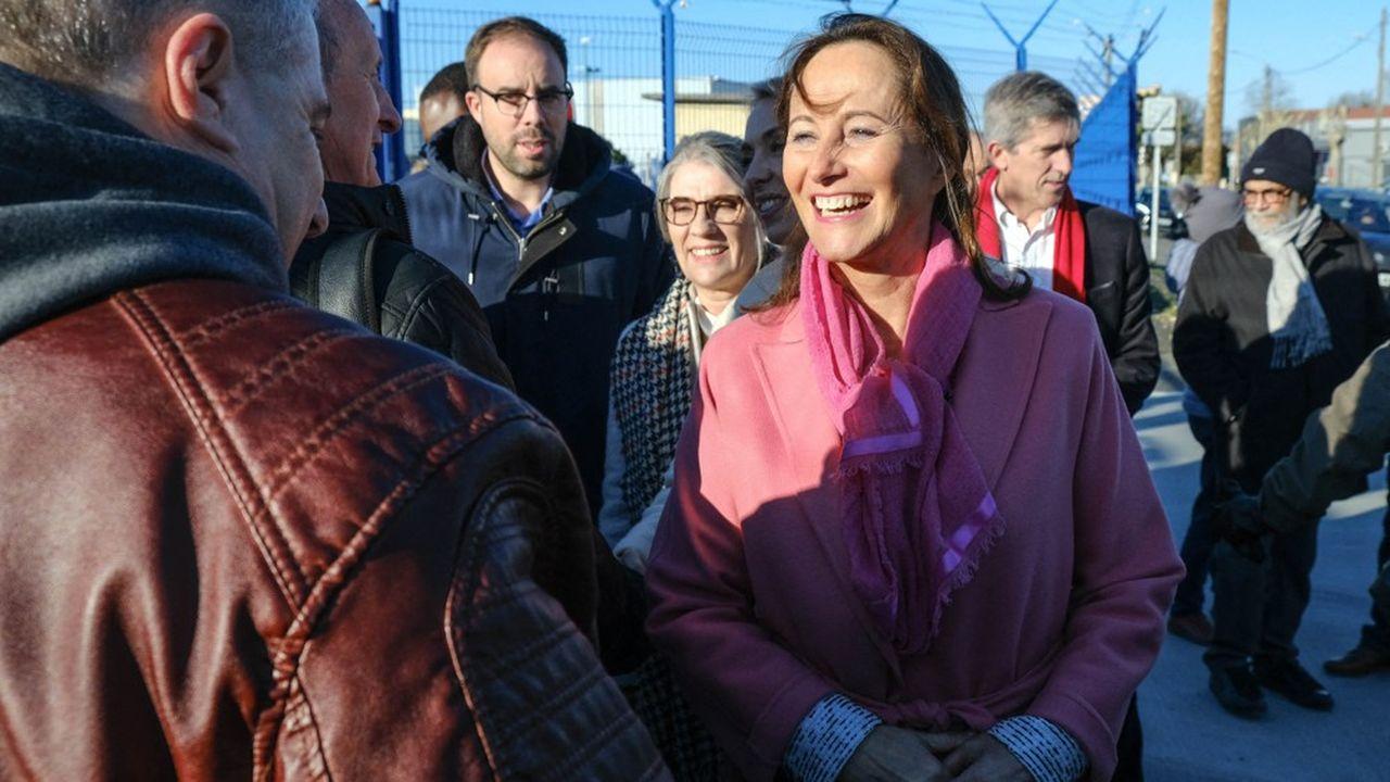 Ségolène Royal en déplacement à Toulouse, le 11janvier.