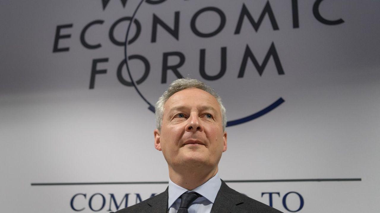 Dans le bras de fer, la France a acheté du temps en suspendant la perception de la taxe Gafa. Mais Bruno Le Maire insiste: «nous n'avons absolument pas renoncé à percevoir cette taxe».