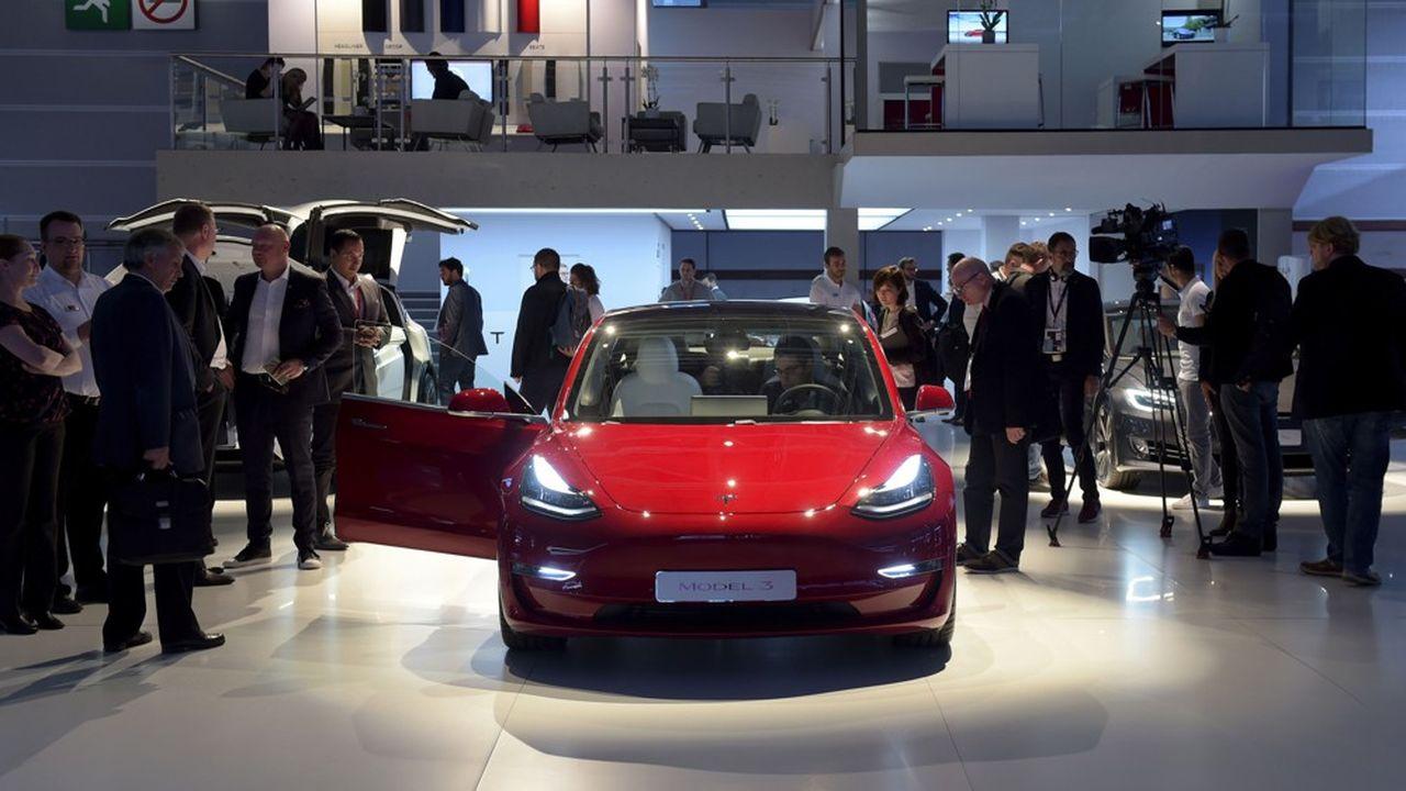 La Model 3, son dernier modèle, a assuré 85% des ventes de la marque l'an dernier.