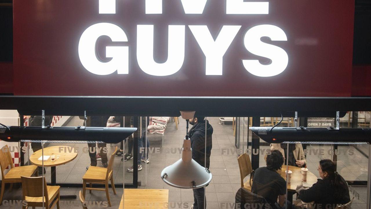 Chez Five Guys, chaque ouverture de restaurant fait l'objet d'un investissement propre.