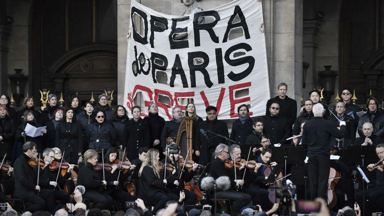 Première représentation après 7 semaines de grève historique — Opéra de Paris