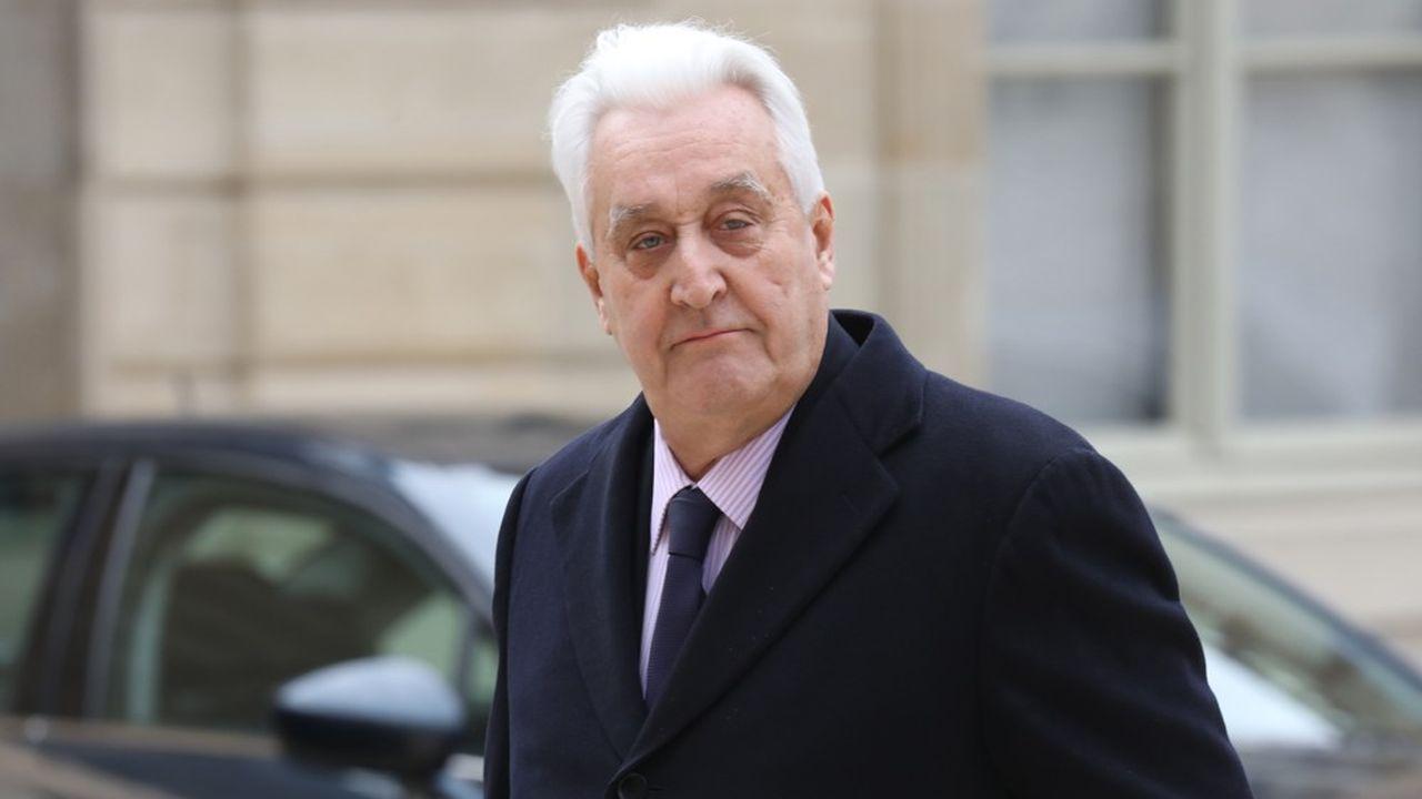 Le président de l'Afep, Laurent Burelle, également PDG de Plastic Omnium