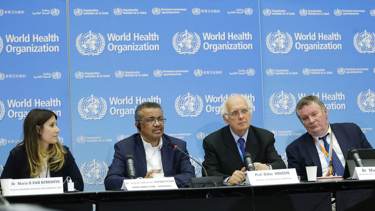 Coronavirus: pour l'OMS, il ne s'agit pas encore d'une crise sanitaire internationale