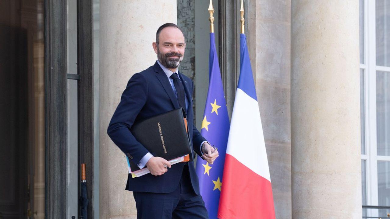Edouard Philippe, ce vendredi à la sortie du Conseil des ministres.