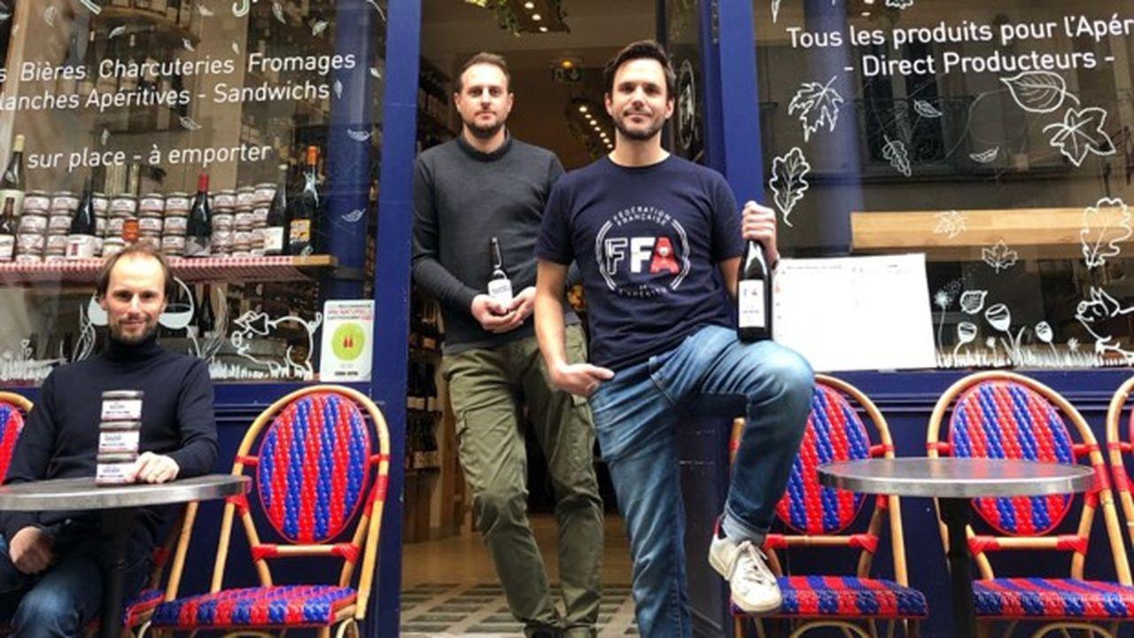 Les trois fondateurs de la Fédération française de l'Apéritif vendent une large gamme de produits dont certains «à consommer avec modération».