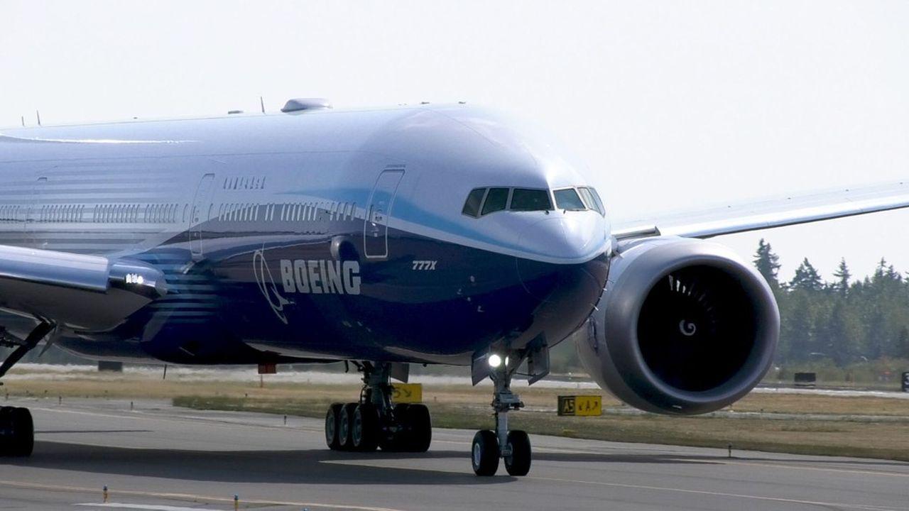Le colossal 777X prend enfin son envol, une éclaircie dans le ciel de Boeing
