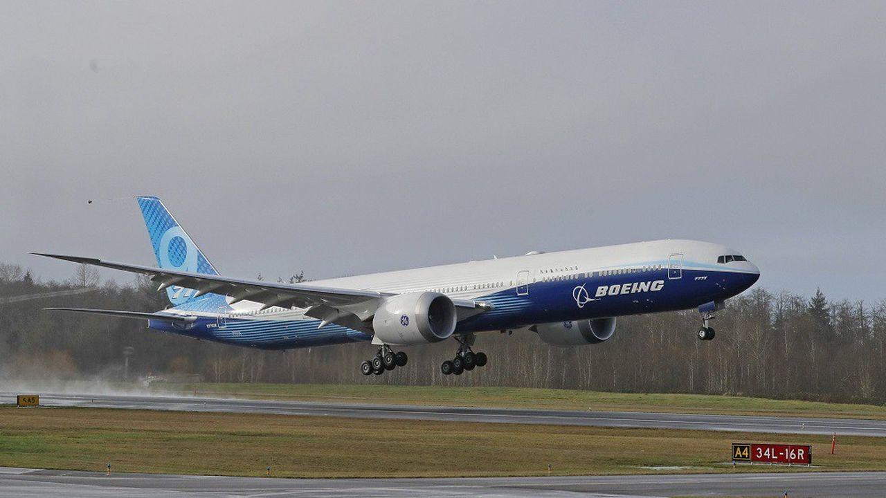 Le Boeing 777X a décollé pour la première fois de Seattle.