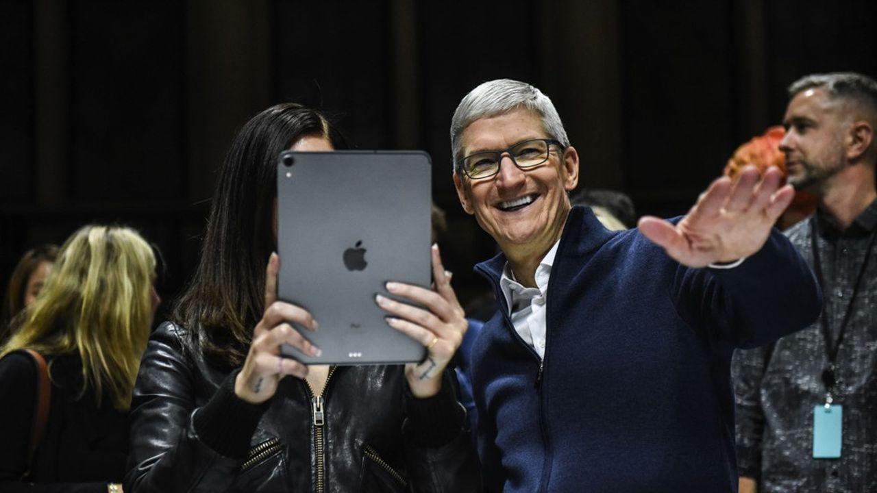 Tim Cook, le patron d'Apple, peut se réjouir, la marque à la pomme a écoulé plus de 400millions d'iPad en dix ans.