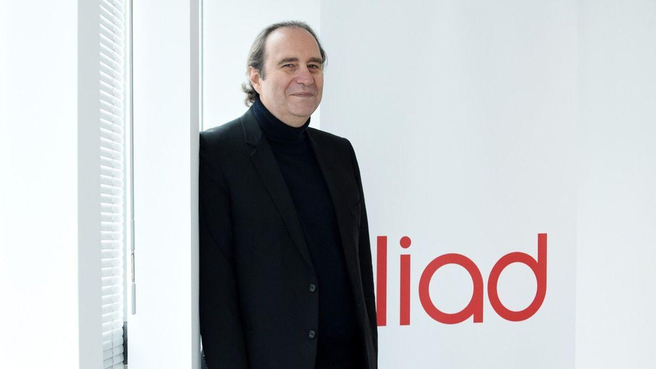 Xavier Niel, le fondateur d'Iliad détient désormais 70% du capital de son groupe.