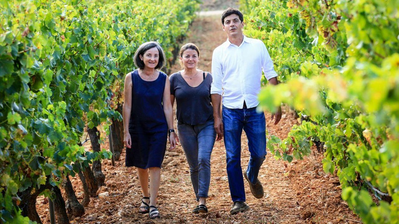 Quand Alain Combard le père de Delphine,Magali et Françoisa acheté le domaine de Figuière en Provence,le bio suscitait la méfiance.