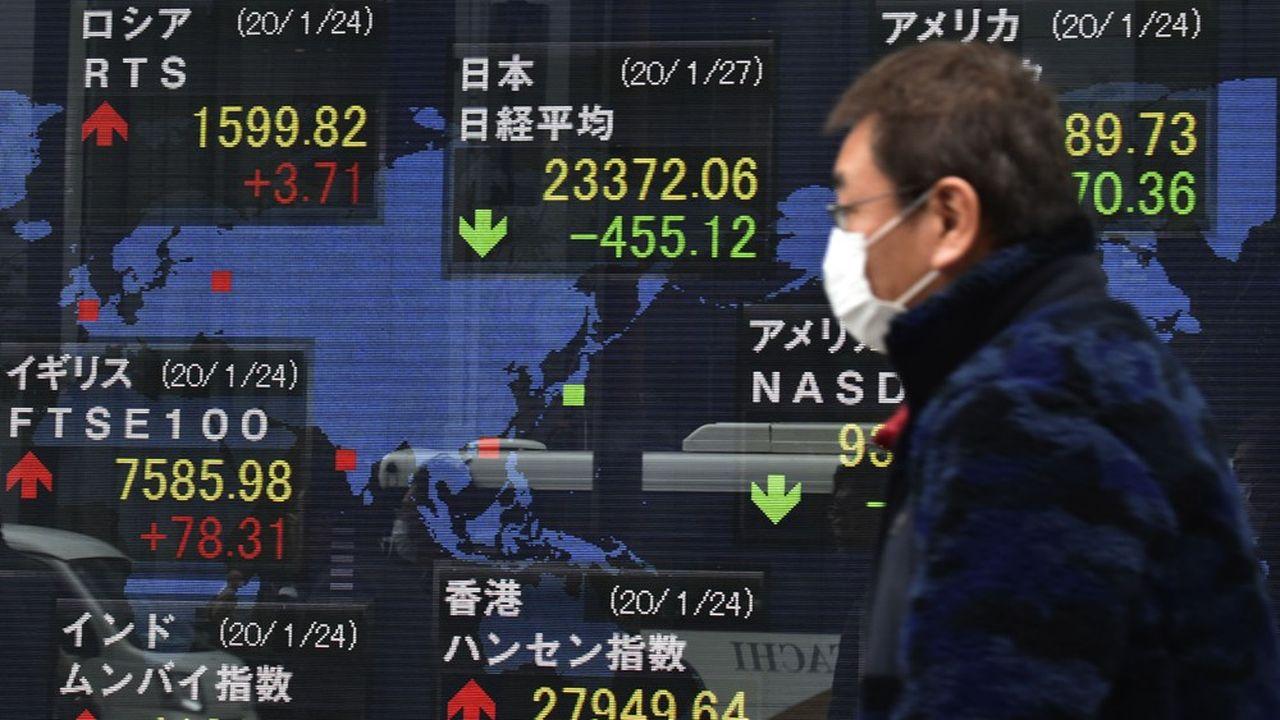 Le virus chinois fait chuter la Bourse de New York