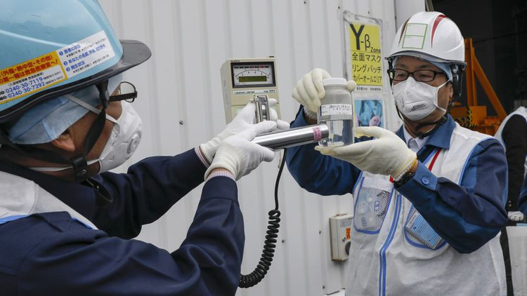 «Nous parvenons à retirer 62 des 63 radionucléides contenus dans ces eaux», affirme Kenji Abe, l'un des cadres de Tepco.