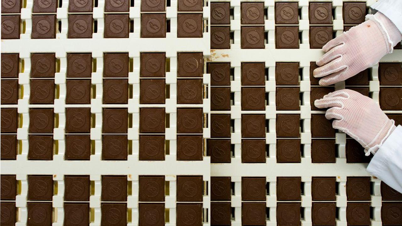 Le biscuitier Bahlsen a affiché une baisse de 2,5% sur un an de son chiffre d'affaires en 2018, à 545millions d'euros, pour une perte d'environ 3millions. (Photo by JULIAN STRATENSCHULTE/DPA/AFP)