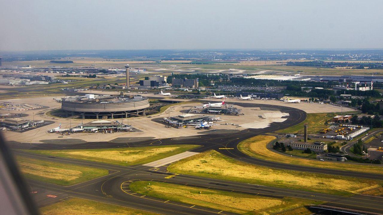 En 2019, l'aéroport de Paris Charles-de-Gaulle a enregistré plus de 500.000 mouvements.