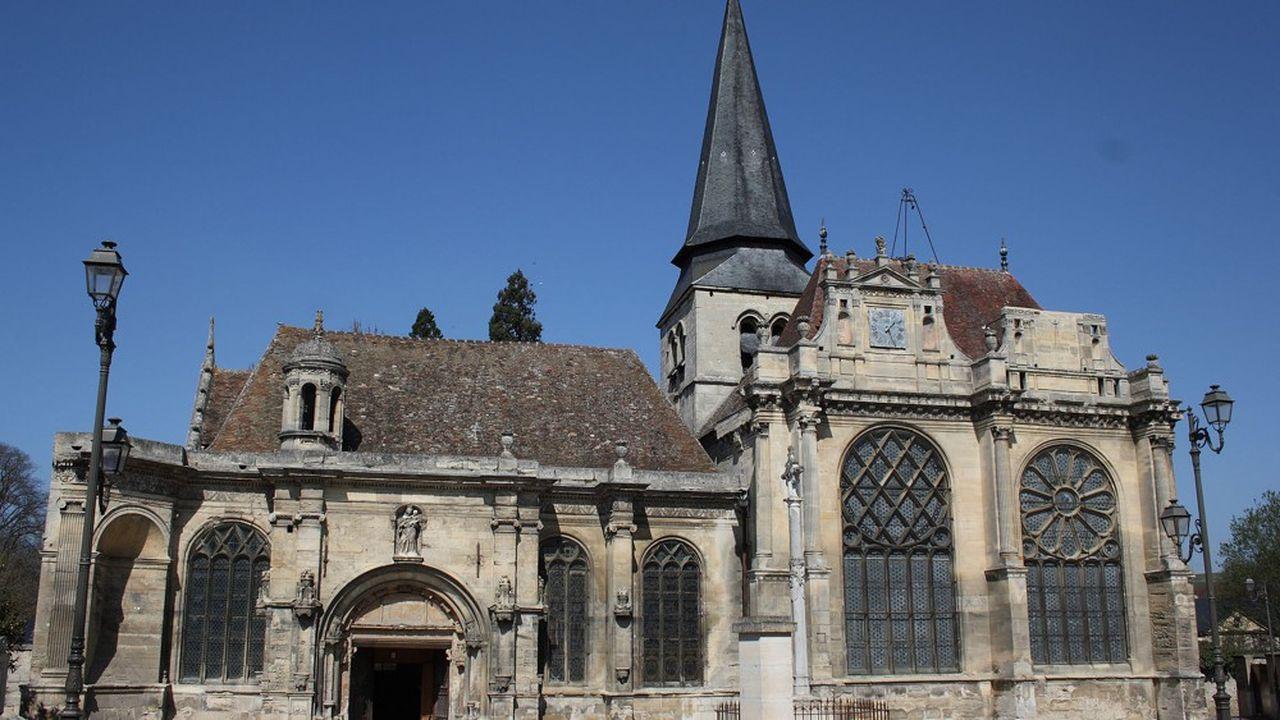 L'église de Magny-en-Vexin est fermée depuis un mois