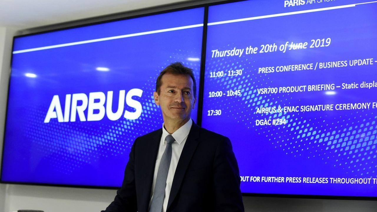 Guillaume Faury espère définitivement solder le passé d'Airbus pour se concentrer sur les défis techniques et commerciaux du groupe.