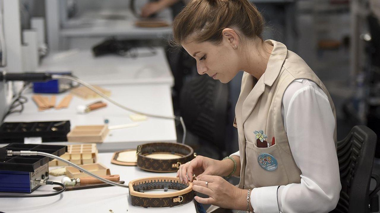Vuitton a inauguré deux nouveaux ateliers l'an dernier, ici à Beaulieu-sur-Loire, et au Texas.