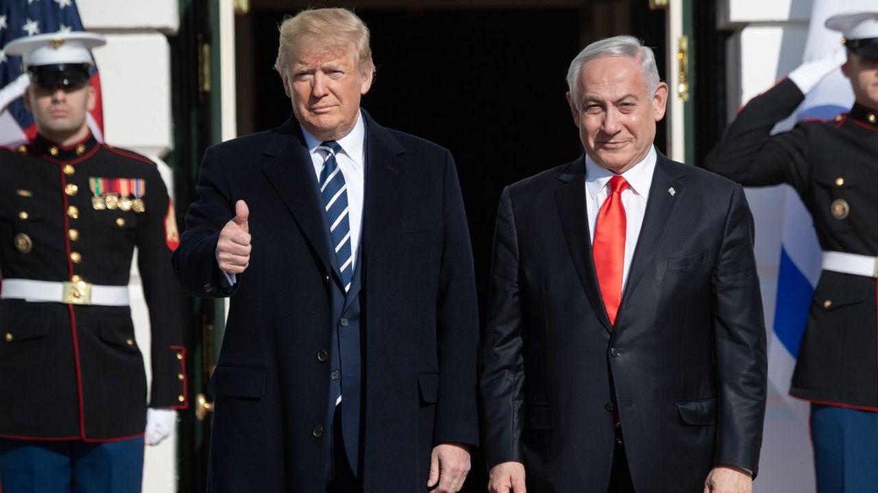 Donald Trump présente son plan de paix pour Israël et les Palestiniens