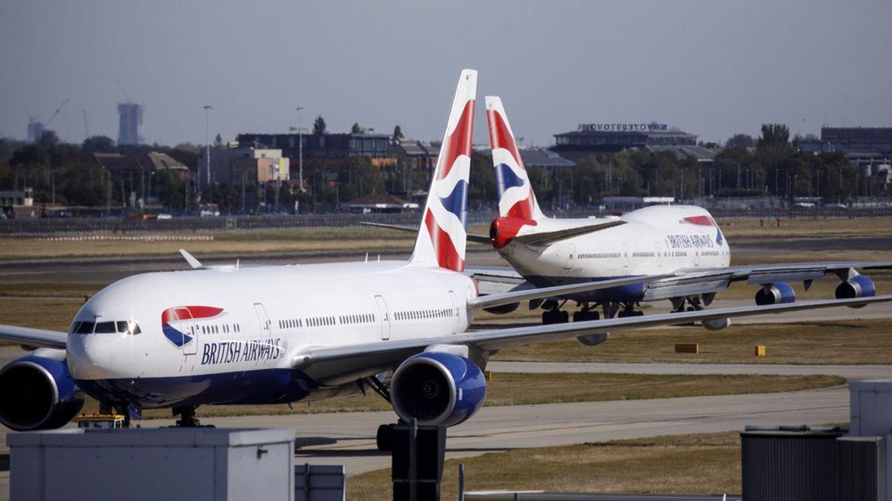 En temps normal, British Airways assure des vols quotidiens depuis l'aéroport londonien d'Heathrow vers Pékin et Shanghai.