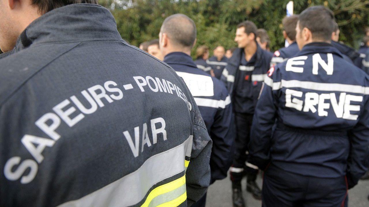 Les pompiers étaient en grève depuis le mois de juin2019