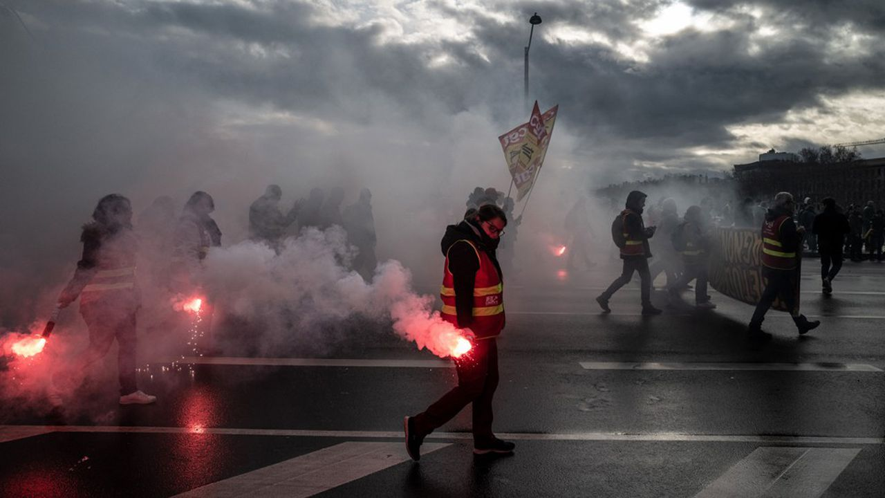 A Lyon comme dans les autres villes de France, la mobilisation était en baisse ce mercredi.