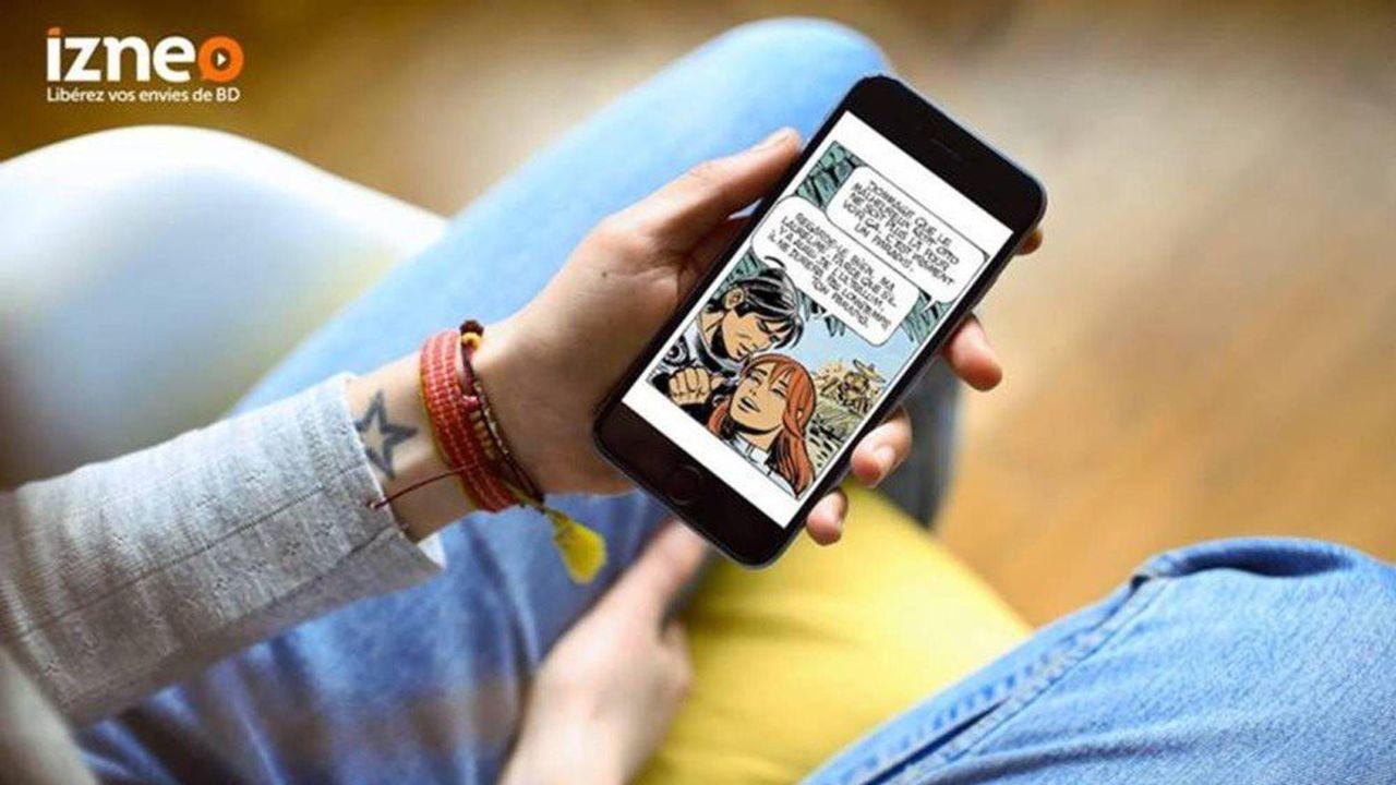 A elle seule, la plateforme Izneo, qui réunit des éditeurs majeurs comme Média-Participations, détient entre 60 et 70% de part de marché.