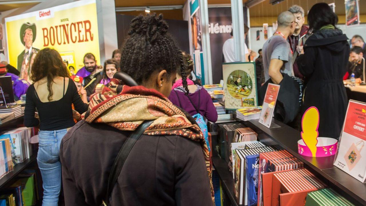 Les bandes dessinées, mangas et romans graphiques ont la cote dans les librairies, avec près de 44millions d'albums vendus en 2018.