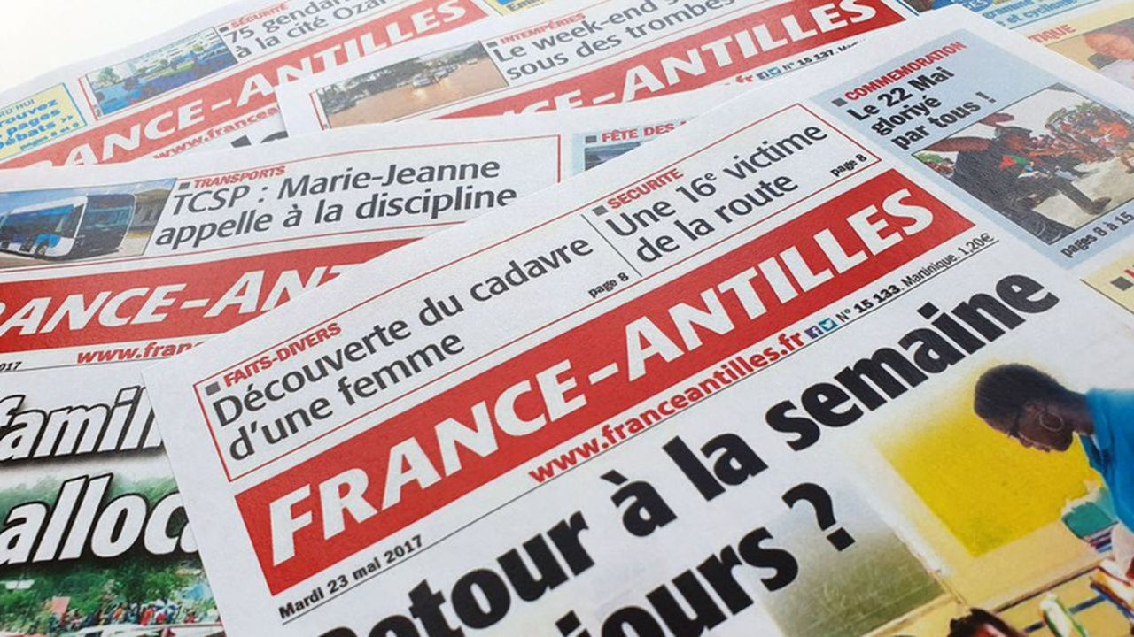 Créé en 1964, France-Antilles était le dernier vestige de l'empire de presse de Feu Robert Hersant