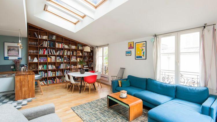Un trois chambres à Bastille