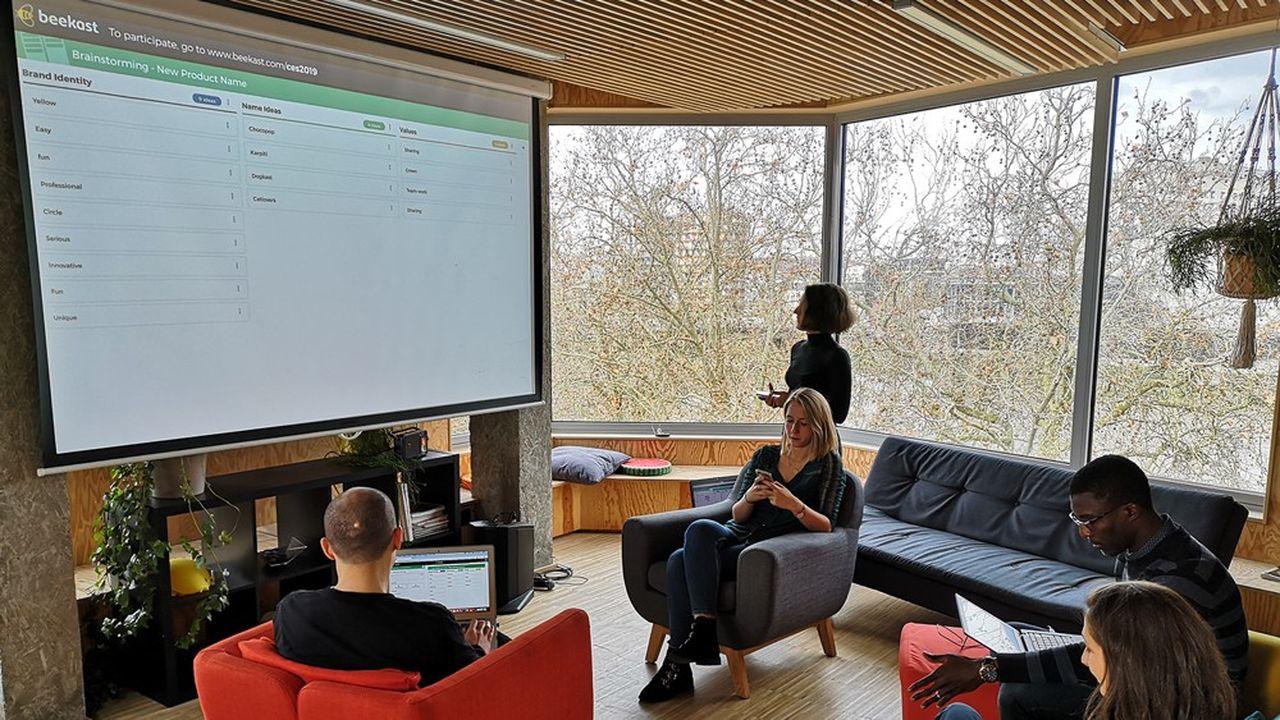 Beekast revendique 1.500 entreprises clientes et 2millions d'utilisateurs en France et à l'étranger.