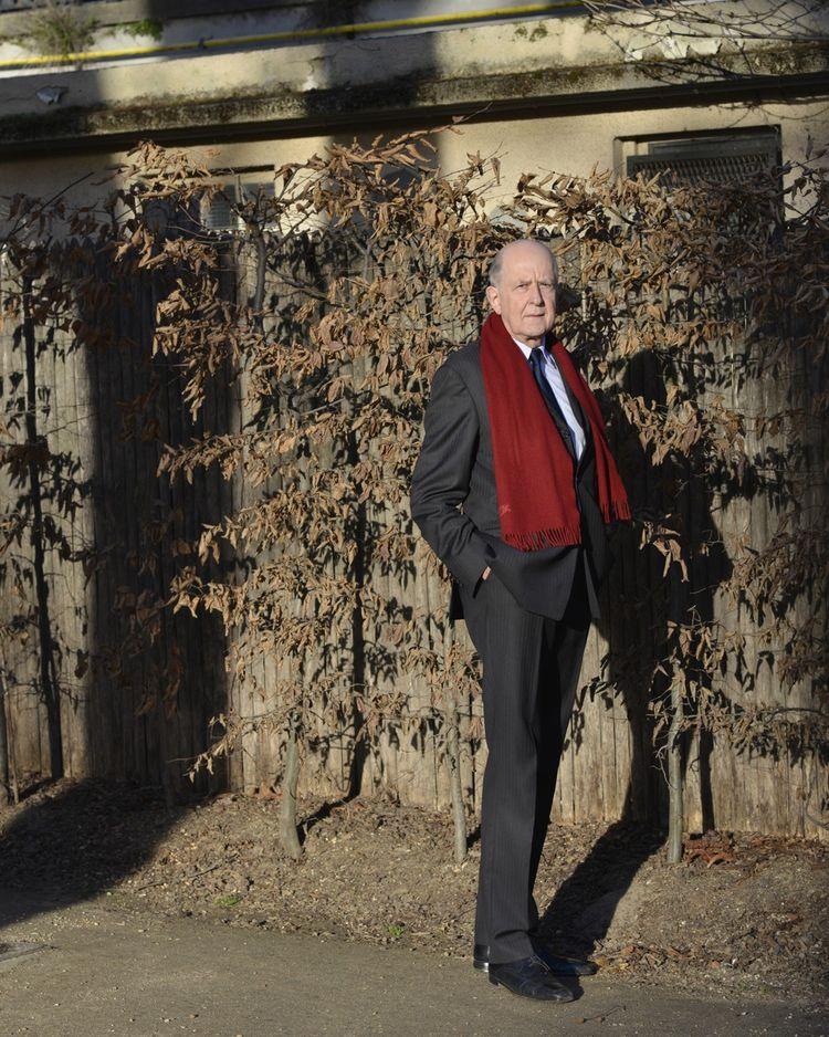 Jean-Marc Sauvé, photographié dans les jardins des Apprentis d'Auteuil, dont il préside la fondation depuis 2018.