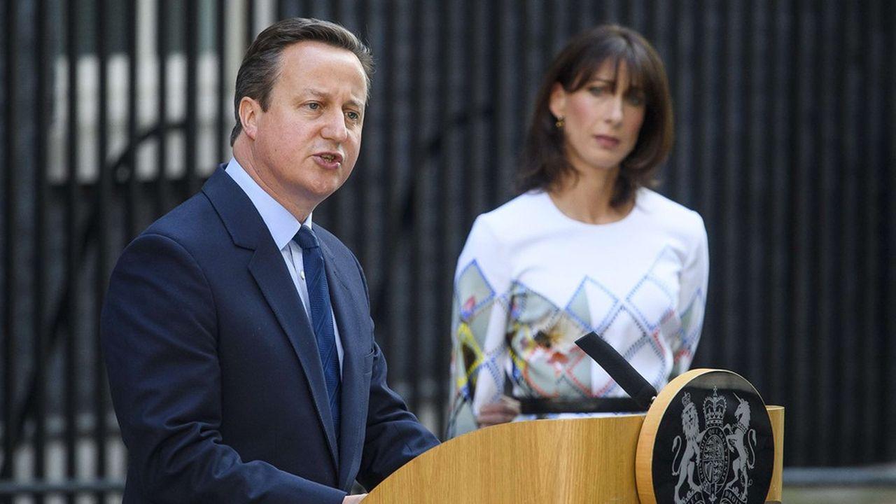 Le Premier ministre conservateur David Cameron annonce sa démission le 24juin 2016 après que les Britanniques ont voté la veille en faveur du Brexit.