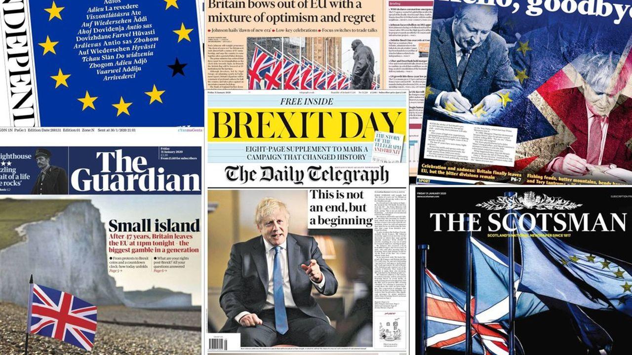 La presse britannique se divise entre les enthousiastes et ceux qui appréhendent l'avenir.