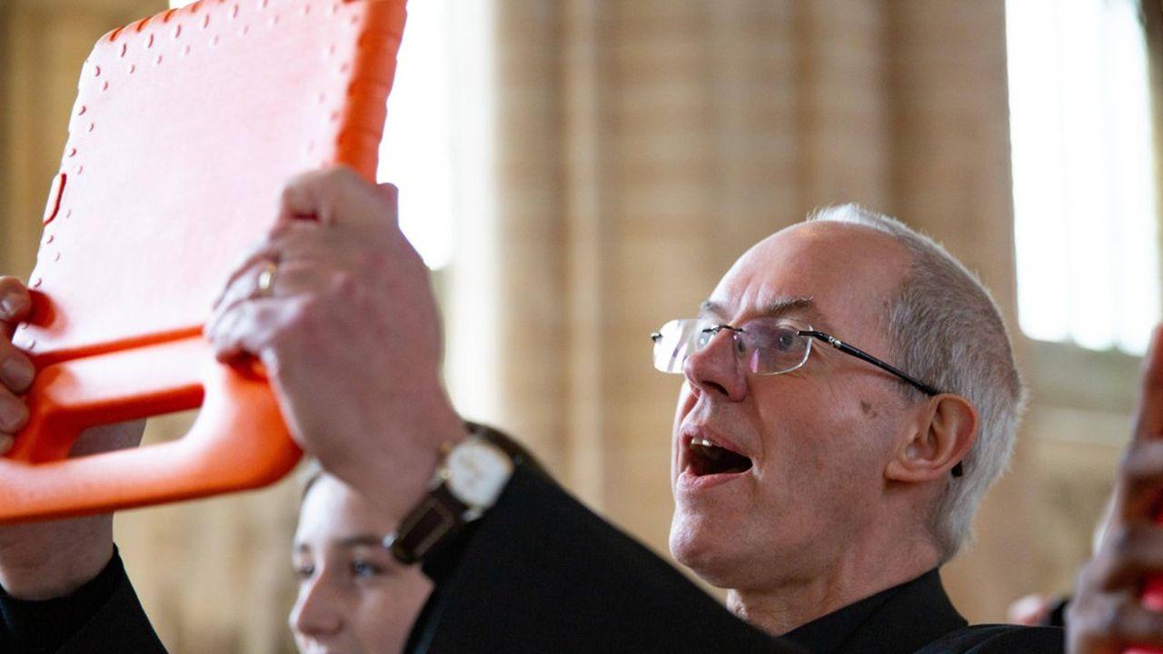 Justin Welby, archevêque de Cantorbéry et primat de l'Eglise d'Angleterre.
