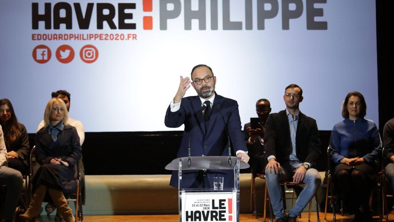 «Je suis candidat en tête de liste pour la mairie duHavre», a déclaré l'actuel Premier ministre Edouard Philippe.