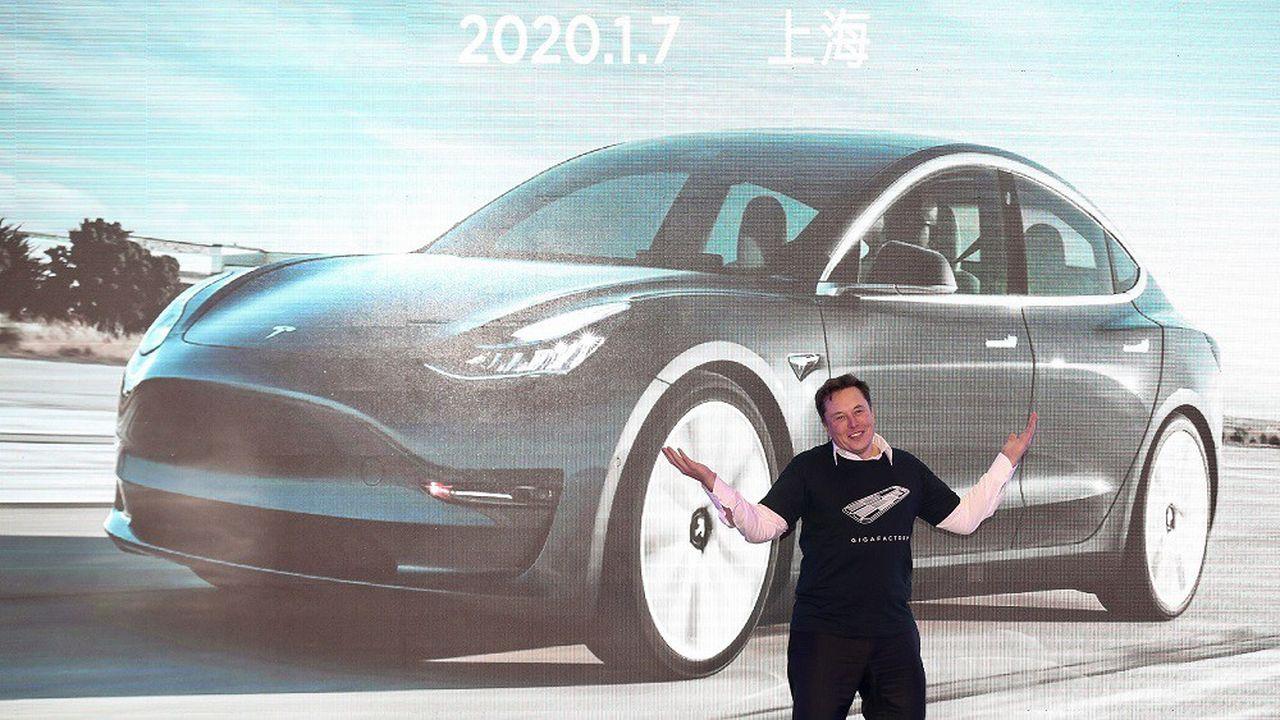 Elon Musk vise 500.000 de livraisons de véhicules en 2020, soit une hausse de 36% sur un an.