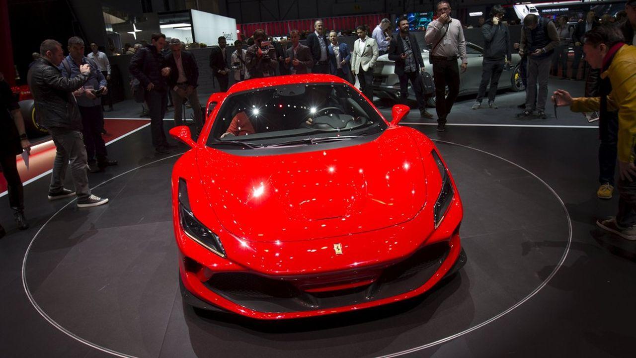 Les ventes de Ferrari en 2019 ont été tirées par la Chine, où elles ont grimpé de 20%.