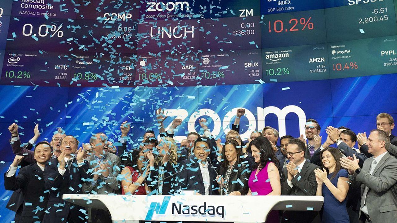 Zoom, la pépite de la visioconférence, a connu lundi sa meilleure séance depuis juin avec un bond de près de 15%.